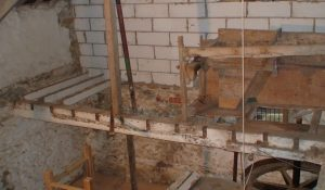 Relevelling of first floor joists