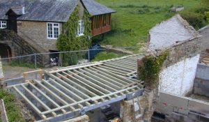 Joist level construction