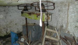 Ground floor and cider press