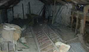 Original first floor and joists